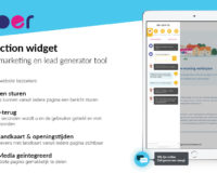 Pyber CRM - call to action widget - chat widget banner