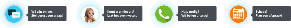 Pyber call to action widget voorbeelden