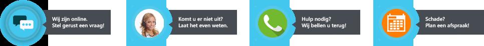 Pyber call to action widget voorbeelden